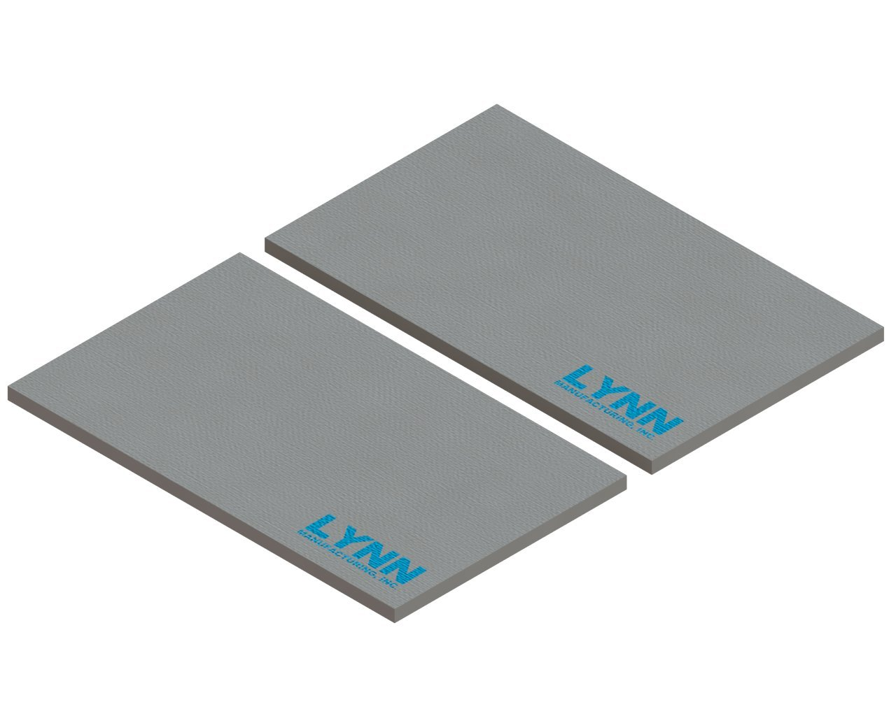Replacement Quadrafire Baffle Board, 4300 Acc, SRV7037-112, Set of 2 by Lynn Manufacturing