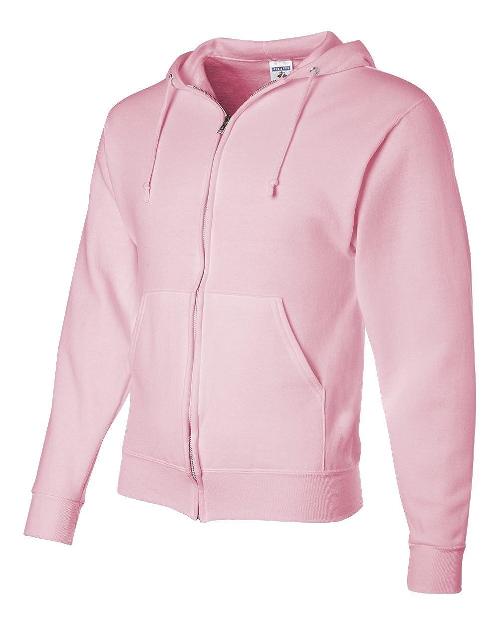Jerzees Mens NuBlend Fleece Full-Zip Hooded Sweatshirt