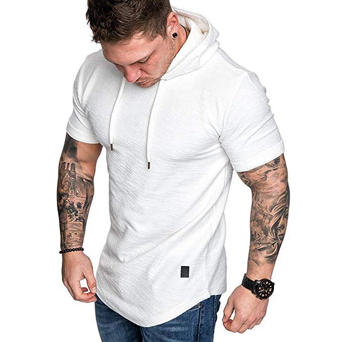 new product b6ebe a0b4d Elecenty Maglietta,T-Shirt slim fit Camicetta a maniche ...