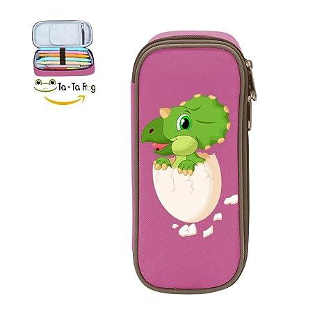 Amazon.com: Pen Case huevo Dinosaurio estuche, bolsa grande ...