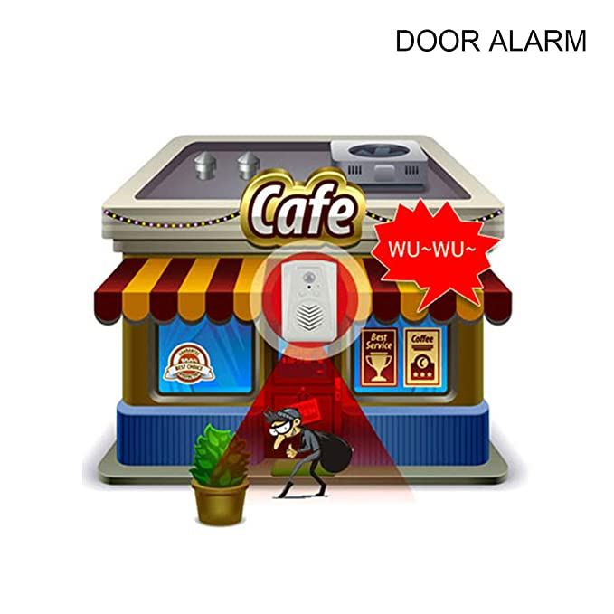 Amazon.com: Microsound PIR Sensor de movimiento alarma de ...
