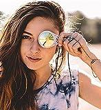 GloFX Kaleidoscope Crystal Monocle Necklace and