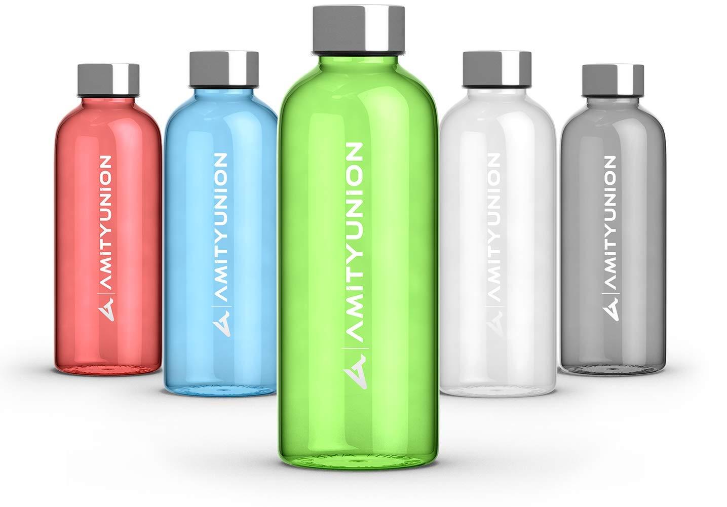 Gourde lija 600/ml/ /Pet /Passe au lave-vaisselle/ /Enfants Sport bouteille deau/ /Sans BPA/ /en Tritan Bouteille Sport en plastique/ /Sans plastifiant/