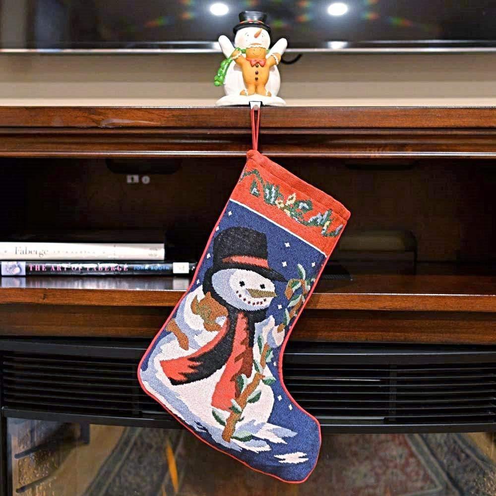 Reindeer /& Tree Christmas Stockings 18 Inches Snowman BestPysanky Set of 5 Santa