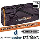 Rucksack FLUGZEUG Flug Transport Schutz Hülle - Flight Cover - Wasserdicht - Mini Packmaß - für Backpacker, Reise-Tasche und Trekking-Rucksäcke 120 Liter