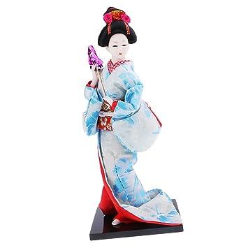 Amazon.com: Baoblaze - Muñeca de geisha japonesa étnica ...