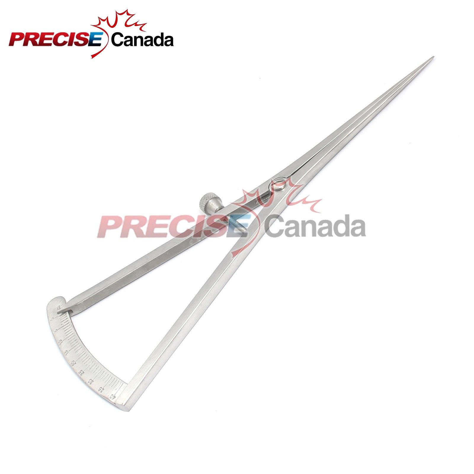 PRECISE CANADA: CASTROVIEJO BONE CALIPER 40MM, STRAIGHT