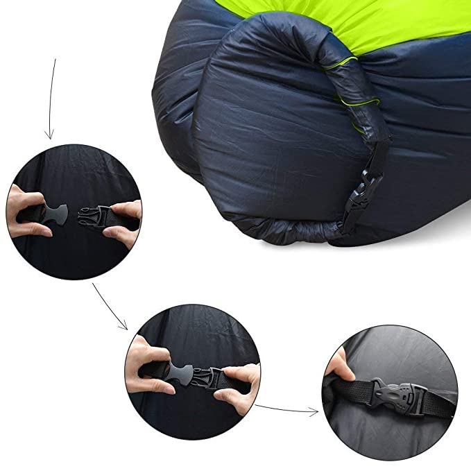Teechaa Air Lounger, sofá Hinchable, Impermeable, sofá ...
