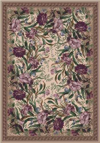 Milliken Pastiche Stainmaster Barrington Court 7421C 510 Heathered Rose 5 4 x 7 8 Area Rug