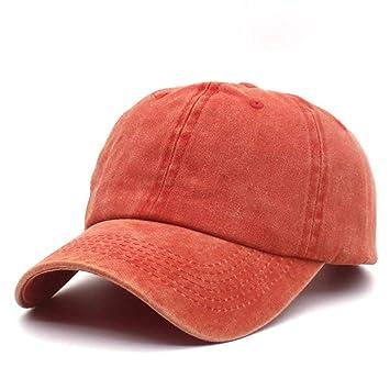 Gorras de béisbol Unisex, gorra de béisbol de algodón de color ...