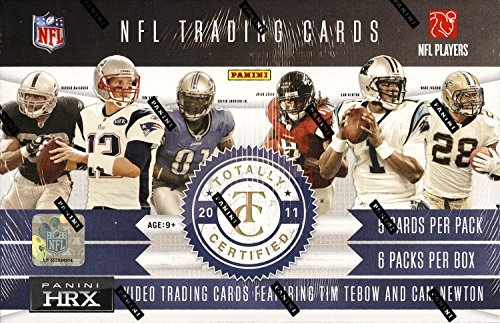 2011 Panini Totally Certified NFL Football box (6 - Football 2011 Cards