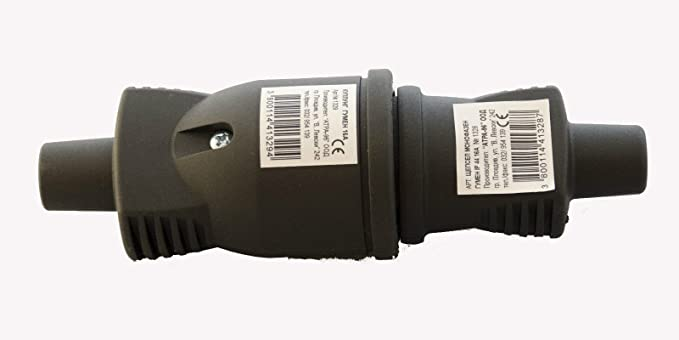 VOLLGUMMI femelle Schuko avec capot Prise en caoutchouc Schuko Kit 250/V 16/A neuf fabriqu/é en UE
