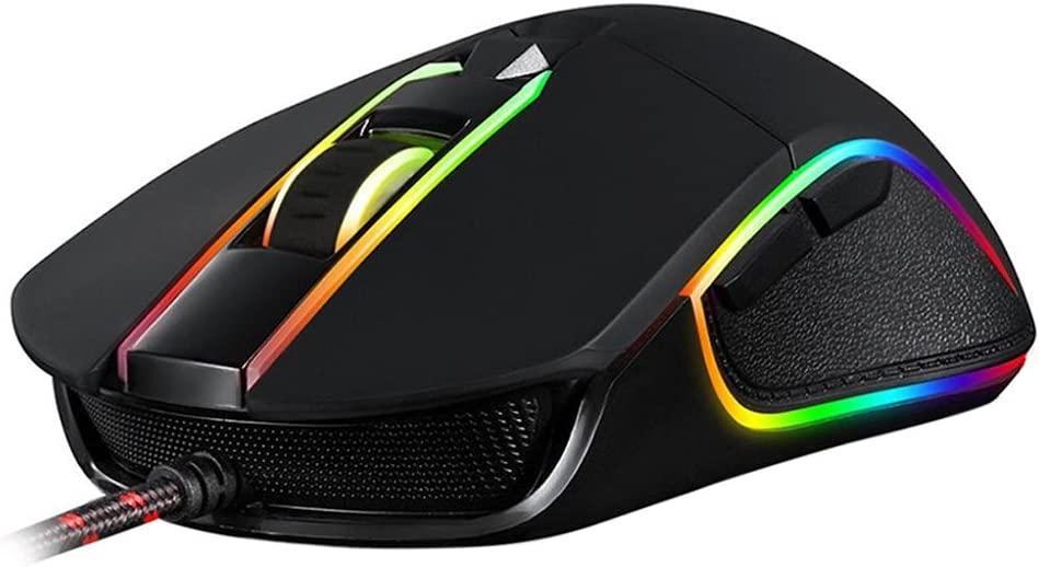 Motospeed V30 3500DPI 6 Buttons Breathing LED Optical Wired Gaming Mouse