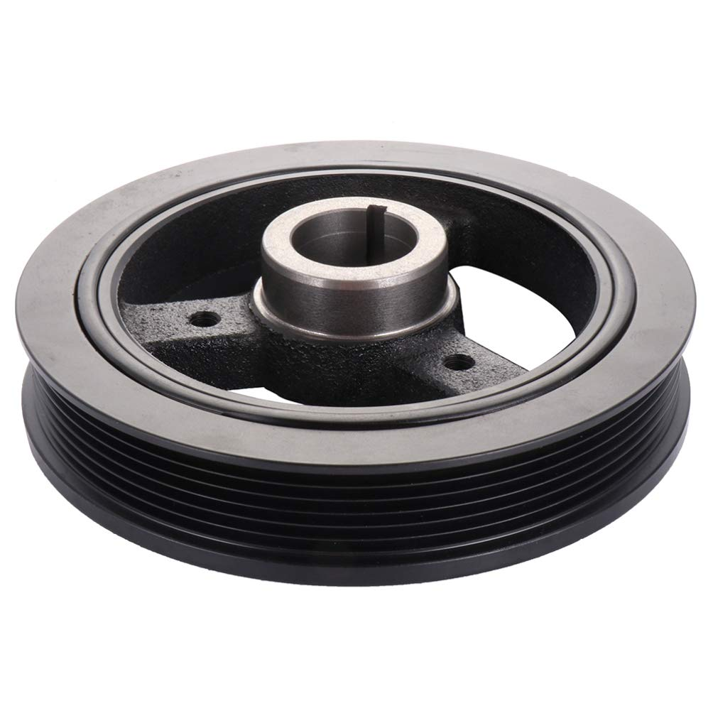 ROADFAR Crankshaft Pulley Compatible for 1992-2004 Ford Crown Victoria F-150 F-150 Heritage F-250 Mustang Thunderbird Lincoln Town Car Mercury Cougar Grand Marquis
