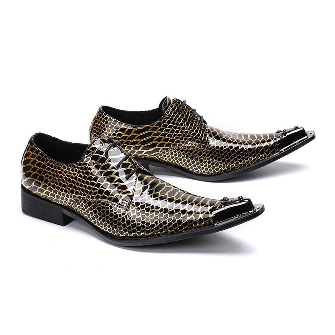 DANDANJIE Herren Herren Herren Formale Schuhe Leder Fallen Oxfords Hochzeits-Party & Abend Neuheit Schuhe 4a68e6