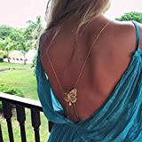 Fashion Body Jewelry For Women Sexy Alloy Chain Body Jewelry Beach Charming Resin Butterfly Shape Body Chains Wholesale