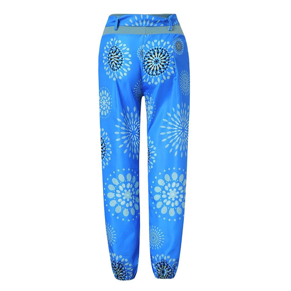 Zegeey Pantalones de Yoga Algodón Suave Piernas Pantalones ...