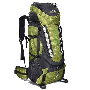 BERGHT 80L Mochila de Senderismo Impermeable Mochila Trekking Mochila Multifucional para Alpinismo Escalada Marcha Trekking Camping