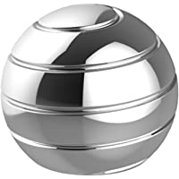 CaLeQi Escritorio cinético Juguete Oficina Metal Spinner Ball