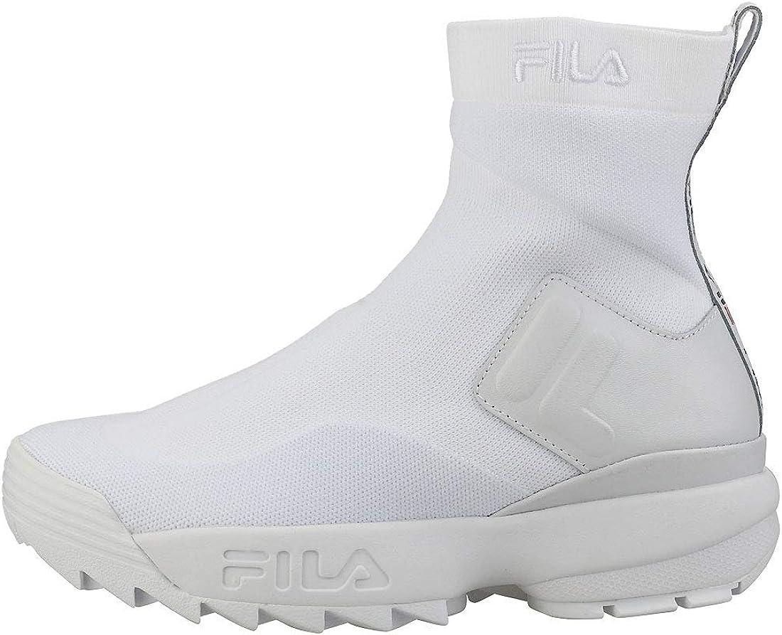 Fila Disruptor Stretch Donna BiancoMarinaRosso Sneaker