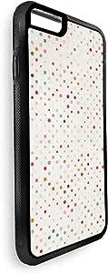 ديكالاك غطاء حماية خلفي لجهاز ايفون 8 بلس بتصميم نقاط ملونة  , متعدد الالوان