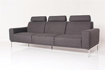 Machalke Schlafsofa machalke sofa marcello 4er sofa stoffbezug panama braun amazon de