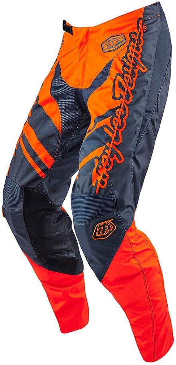Troy Lee Designs Gp Flexion Kinder Mx Hose Farbe Orange Grau Größe 26 Bekleidung