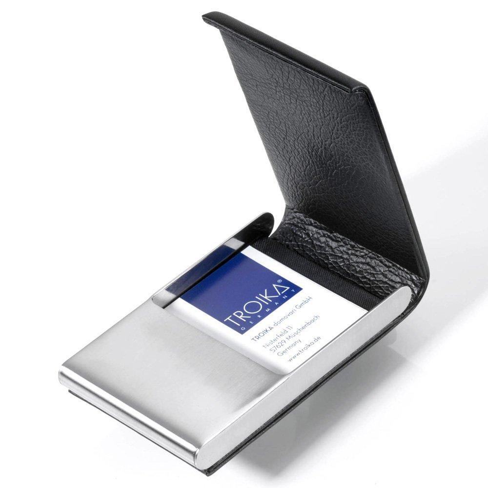 Troika Visitenkartenhülle, schwarz (schwarz) - CDC49/LE
