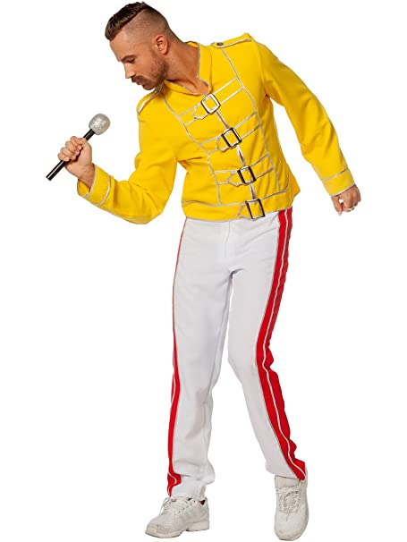 Wilbers & Wilbers Disfraz de la Leyenda del Rey Freddy Rock Star ...