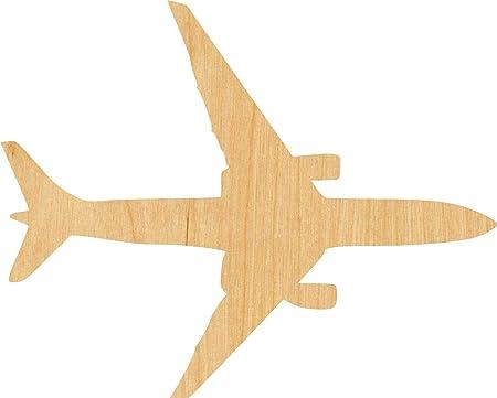 Airplane Nursery Decor Jet Airplane Wood Cutout Blank Wood Craft Shapes Jet Airplane Party Decor