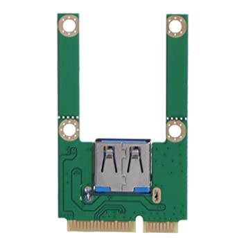 WOVELOT Computador Portátil Mini Pci-E a Usb2.0 Pci Express ...