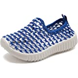 CIOR Kids Slip-On Casual Mesh Sneakers Aqua Water Breathable Shoes For Running Pool Beach (Toddler/Little Kid) SC1588 Grey 26 XVtKaPsmK