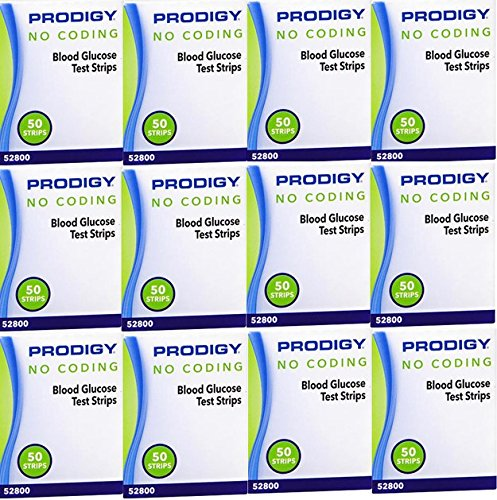 Prodigy No Coding Blood Glucose Test Strips, 600ct by Prodigy (Image #1)