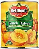 Del Monte Foods Yellow Peach Halves in Heavy Syrup, 29 oz