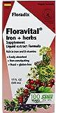 Floravital Iron & Herbs Yeast Free Flora Inc 17 oz Liquid by Salus-Haus