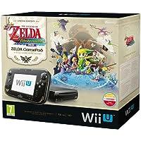 Nintendo Wii U Premium + The Legend of Zelda: The Wind Waker HD Edition Negro 32 GB Wifi - Videoconsolas (Wii U, Negro, IBM PowerPC, AMD Radeon, 32 GB, DVD)