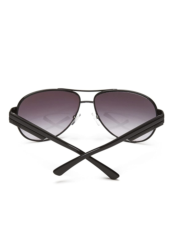 GUESS Factory Mens Metal Aviator Sunglasses