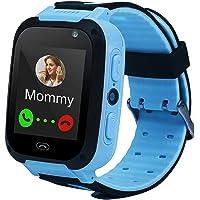 Justdolife Phone Watch Creative Smart Watch Touch Screen Watch for Children