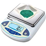 WELLiSH Precision Digital Scale 0.1g Lab Analytical Balance Scale Scientific Scale (30kg/0.1g)