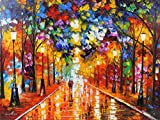 Farewell to Anger is a ONE-OF-A-KIND, ORIGINAL OIL PAINTING ON CANVAS by Leonid AFREMOV … offers