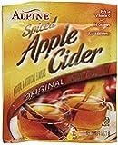 Alpine Spiced Cider Original Apple Flavor Drink Mix, 60 Count 0.74 ounce pouches