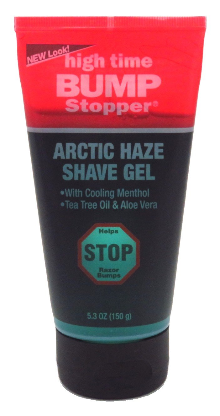High Time Bump Stopper Shave Gel Arctic Haze 5.3 Ounce (156ml) (2 Pack)