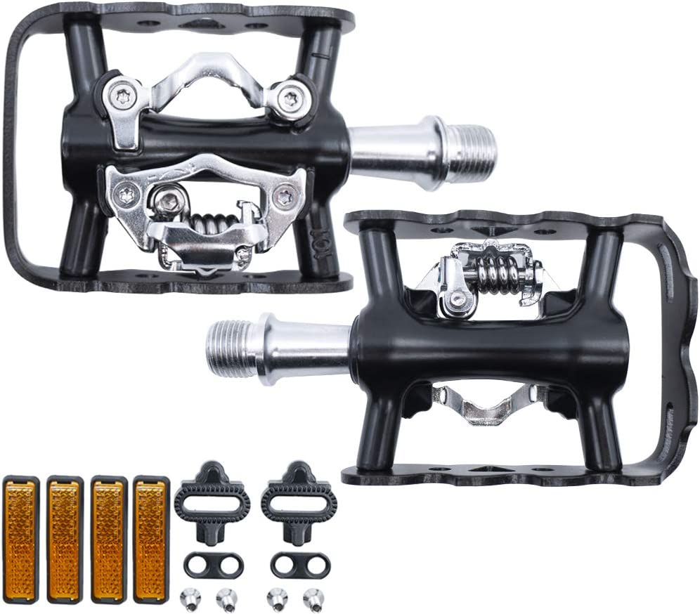 1PAIR Ultralight Cycling Pedal Bicycle Pedals 9//16inch Magnesium Alloy Pedal New