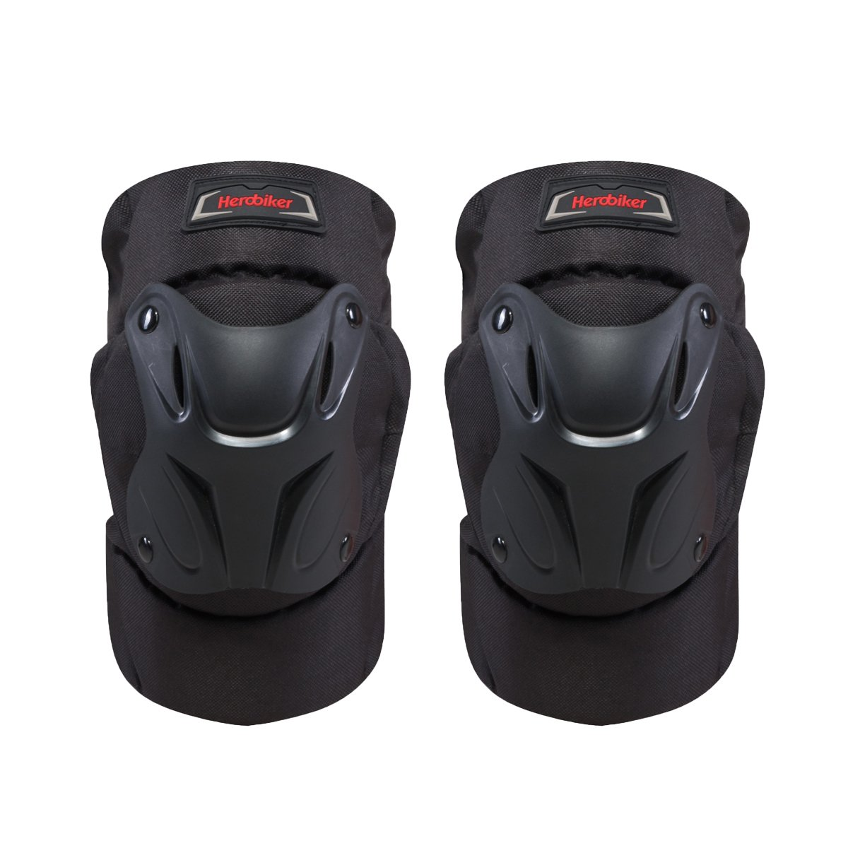 HEROBIKER MK1004 Black Motorcycle Sports Knee Protection Equipment Covered