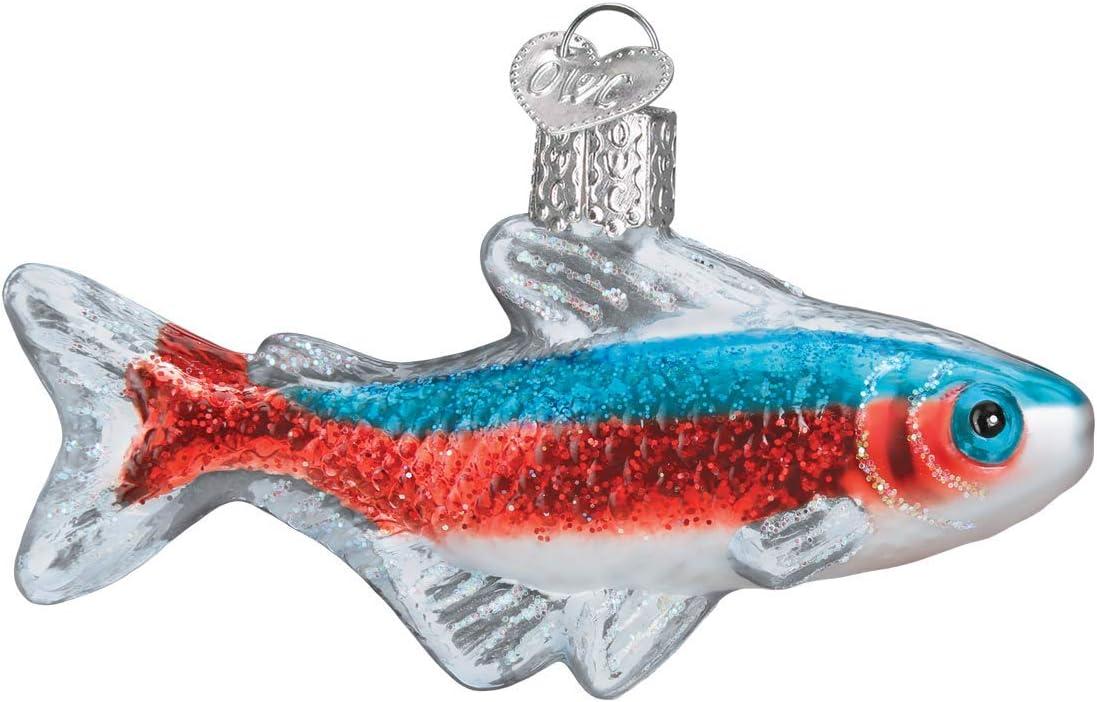 Old World Christmas Ornament, Multi Tetra Fish
