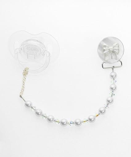 Crystal Dream Elegante cristales blancos y perlas de Swarovski y con ...