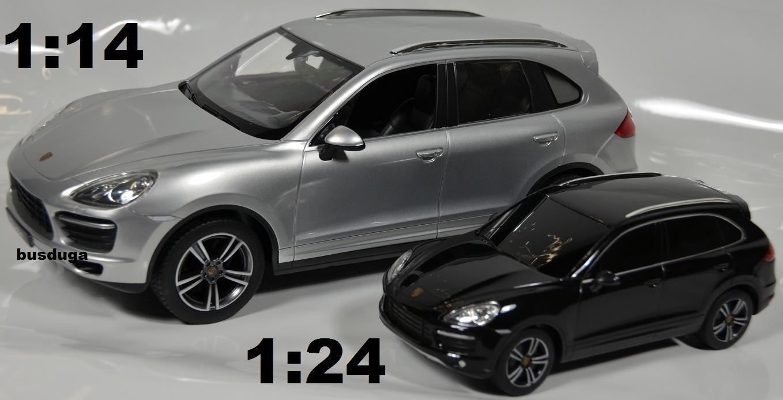 RC Porsche Cayenne Turbo - Escala.: 1: 24 - teledirigido - Juego completo - Color.: Negro - Licencia de réplica: Amazon.es: Juguetes y juegos