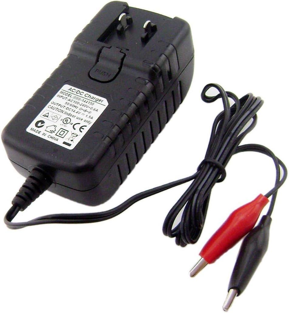 14.4 V 1.5 Aスマート充電器for SLA 12 V鉛バッテリーW / 4pcsリムーバブルplug4