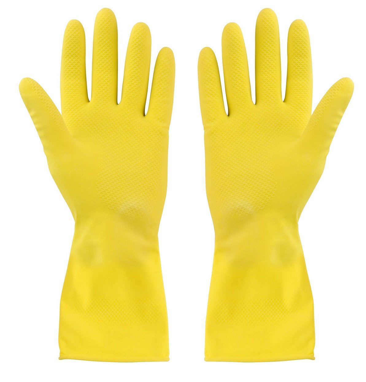 Extra Large Rubber Gloves with Flock Lined B00583DRWM  XL