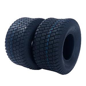 Motorhot 2 x Turf Lawn & Garden Tire 18x9.50-8 P322 4PR Golf Cart Turf Saver Tires